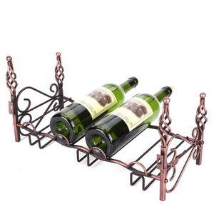PORTE-VERRE Support à rangement pour verres à vin en métal