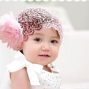 Mignon Beau Bébé Toddler Enfant Dentelle Fleur Bandeau cheveux nœud coiffure