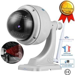 CAMÉRA IP Caméra dôme motorisé extérieur IP, WIFI, HD 720P a