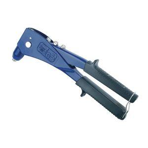 Cocoarm Pince /à riveter /à rivets avec rivets et rivets en acier inoxydable 2,5-6 mm