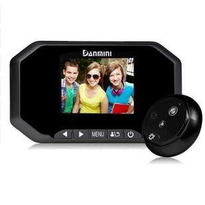 SONNETTE - CARILLON DANMINI 3.0 ''TFT LCD Écran HD Caméra Vidéo Sonnet