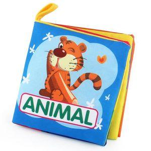 LIVRE INTERACTIF ENFANT bébé Intelligence Development Livre de Animal- Liv