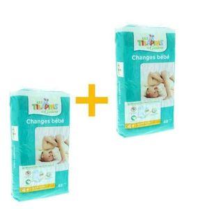 COUCHE Pack LES TILAPINS Couches Maxi+ Taille 4+ - 9 à 20