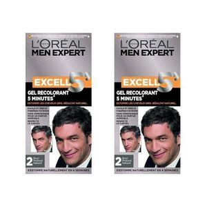 COLORATION EXCEL Color homme 5 nat 2 (Lot de 2)
