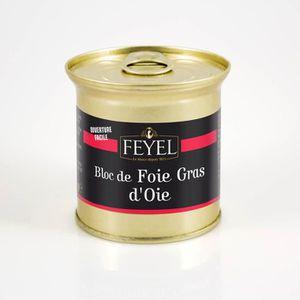 FOIE GRAS Bloc de Foie Gras d'Oie Alsace – FEYEL – Conserve