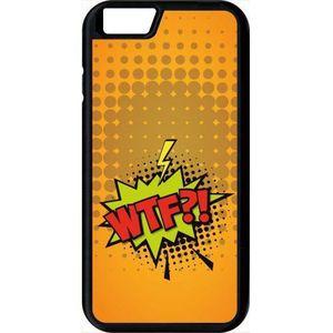 coque apple iphone 6s wtf fond orange
