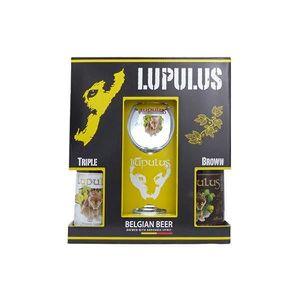 BIÈRE Coffret Lupulus 2x75cl + 1 verre