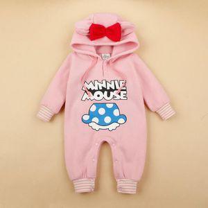 Ensemble de vêtements Mickey Vêtements de bébé nouveau-né barboteuses co