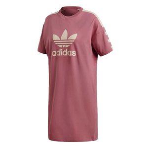 T-SHIRT Robe tee-shirt femme rose DH4181 38