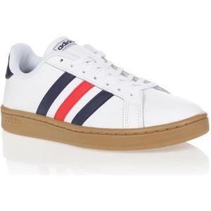 chaussure adidas bleu blanc rouge