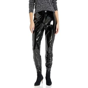 vinyl wetlook Pantalon Pants Knautschig souple verni leggins S PVC Gothique Leggings