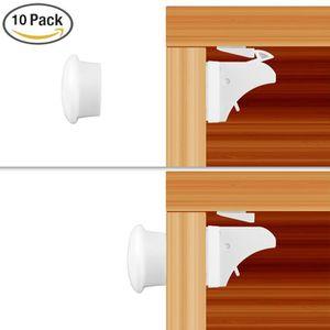 BLOQUE TIROIR Bloque-tiroir/placard pour bébé/enfant - 10 verrou