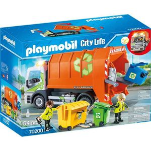 UNIVERS MINIATURE PLAYMOBIL 70200 - City Life - Camion de recyclage