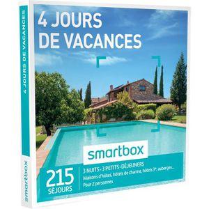 COFFRET SÉJOUR Coffret cadeau - 4 jours de vacances - Smartbox