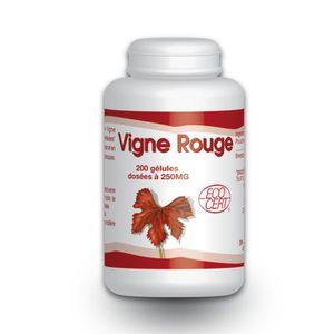 CIRCULATION SANGUINE Vigne Rouge Bio - 250mg - 200 gelules