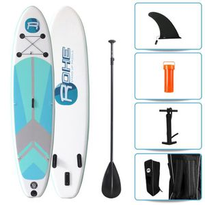 STAND UP PADDLE ROHE Pack Paddle Gonflable Indiana Green - 320x76x