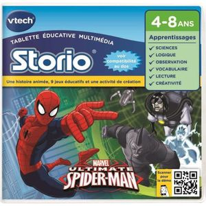 JEU CONSOLE EDUCATIVE VTECH Jeu Educatif Storio Spiderman