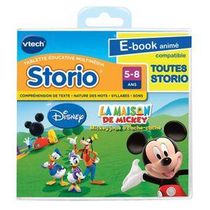 JEU CONSOLE ÉDUCATIVE Jeu Storio La Maison De Mickey