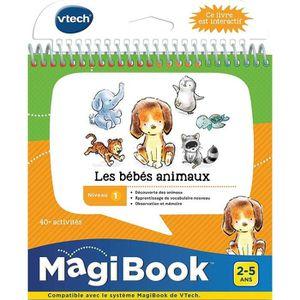 CONSOLE ÉDUCATIVE VTECH - Livre Interactif Magibook - Les Bébés Anim