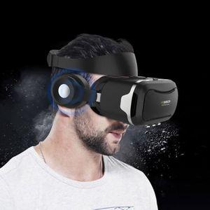 CASQUE RÉALITÉ VIRTUELLE Casque VR noir pour iPhone, Samsung, Huawei, Xiaom