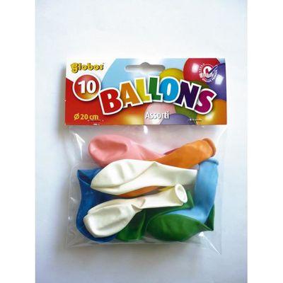 Ballons de baudruche gonflables Blanc 10 pièces Graine créative
