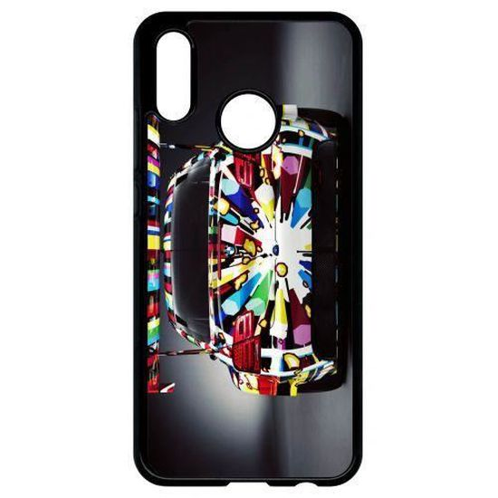 coque huawei p20 lite voiture art color