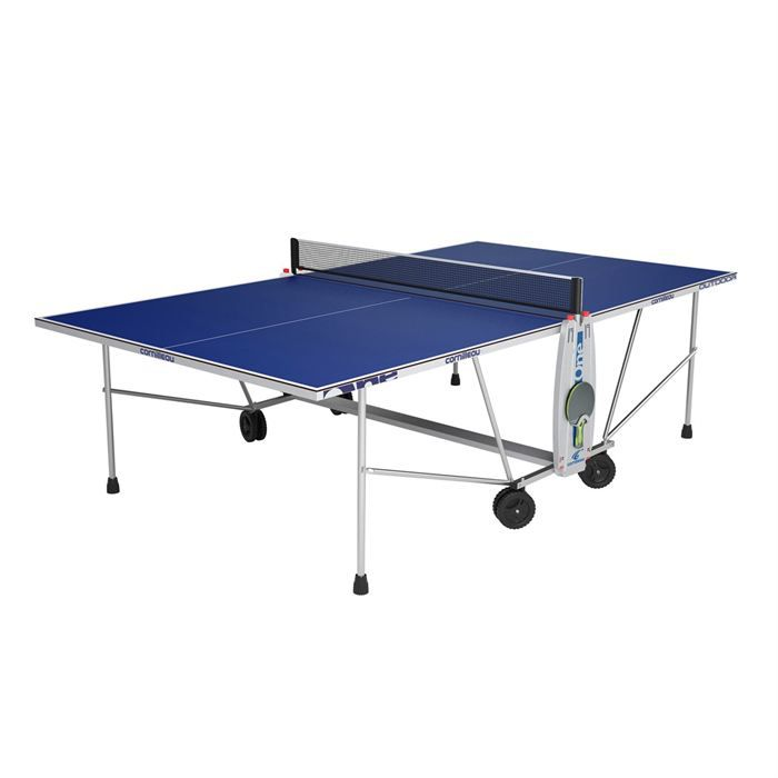 cornilleau table ping pong sport one outdoor bleue prix