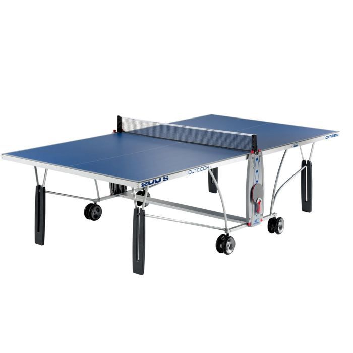 cornilleau table de ping pong sport 200 s outdoor prix. Black Bedroom Furniture Sets. Home Design Ideas