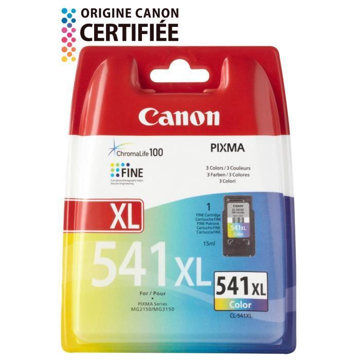 Canon cartouches Cl 541 Xl C/M/Y Pack couleurs x1