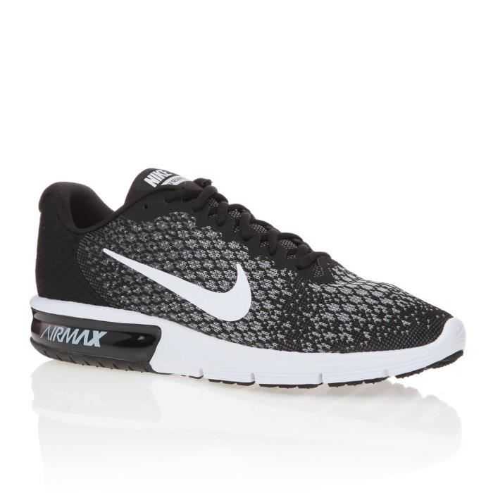 Chaussure de running nike air max sequent 2 pour homme noir