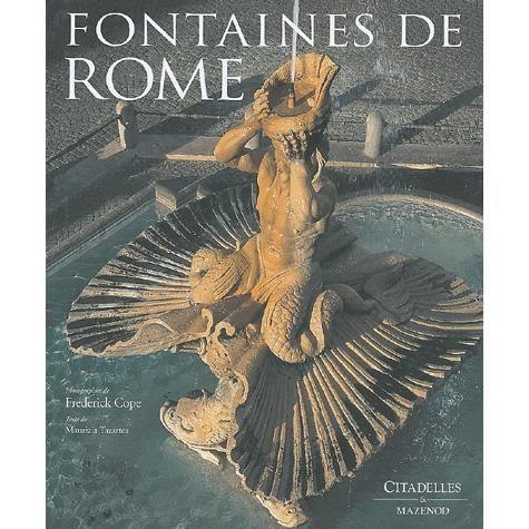 LIVRE TOURISME MONDE Fontaines de Rome