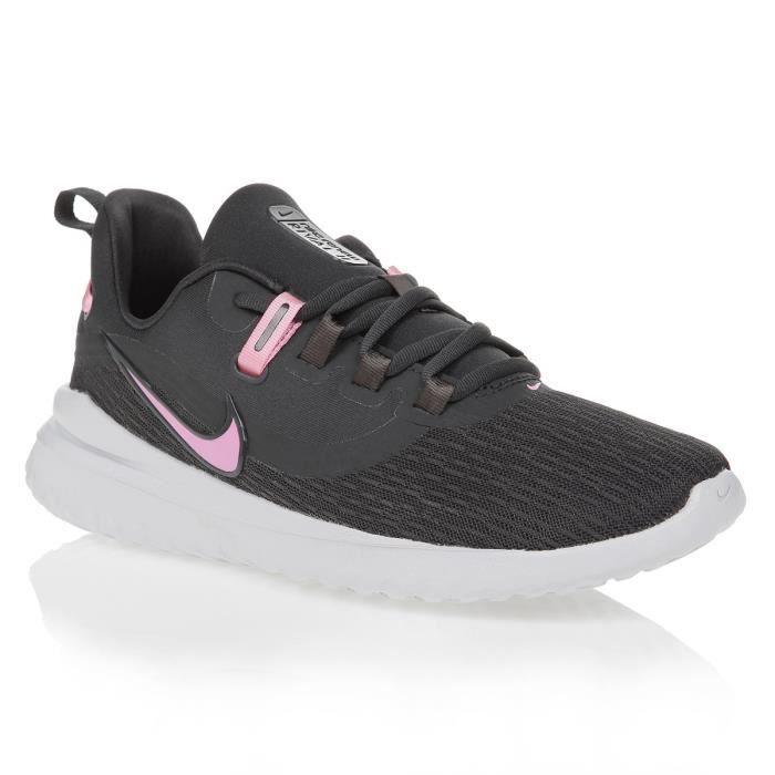 NIKE Chaussures de running Renew Rival 2 - Femme - Noir et Rose