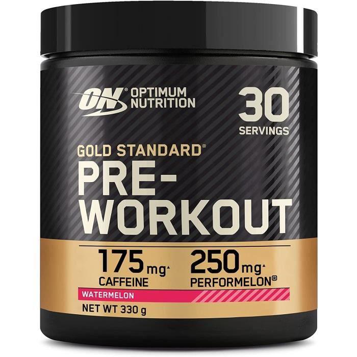 Optimum Nutrition Gold Standard Pre Workout en Pou e, Energy ink avec Créatine Monohy atée, Caféine et Vitamine B Complex, Save233