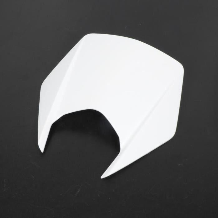 Plaque phare origine Moto Derbi 50 Senda DRD Xtreme 2010-2014 86420600W0B - blanche Neuf