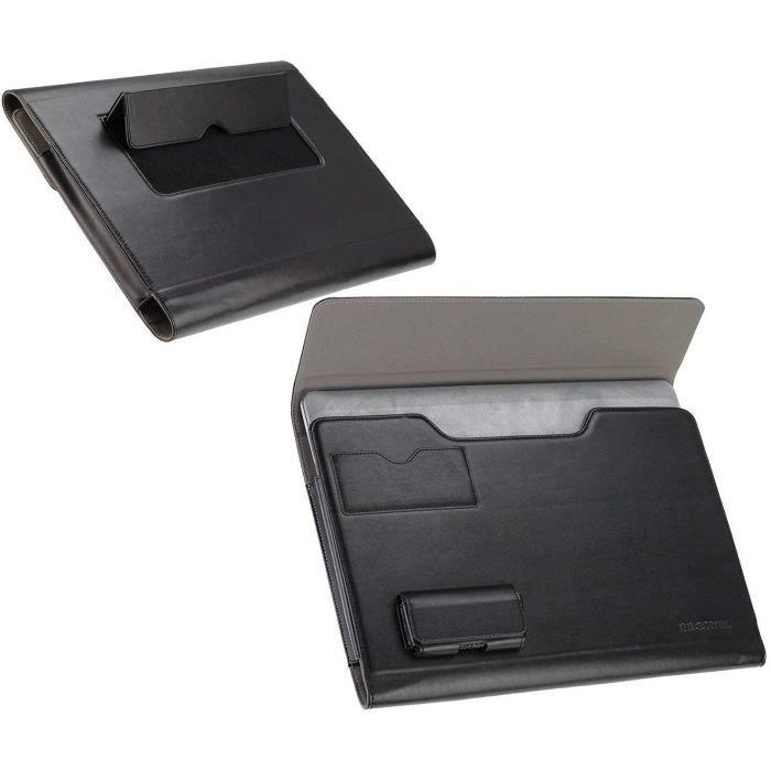 Broonel Housse Noir Compatible Avec Le HP ENVY 13-aq0003na Full-HD 13.3- Touchscreen Laptop