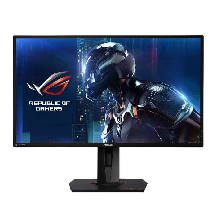Écrans PC Asus ROG PG279QE - Ecran PC Gaming Esport 27'' WQHD - Dalle IPS - 16: 9-165Hz - 4ms - 2560 x 1440-350CD-M² - D 1414