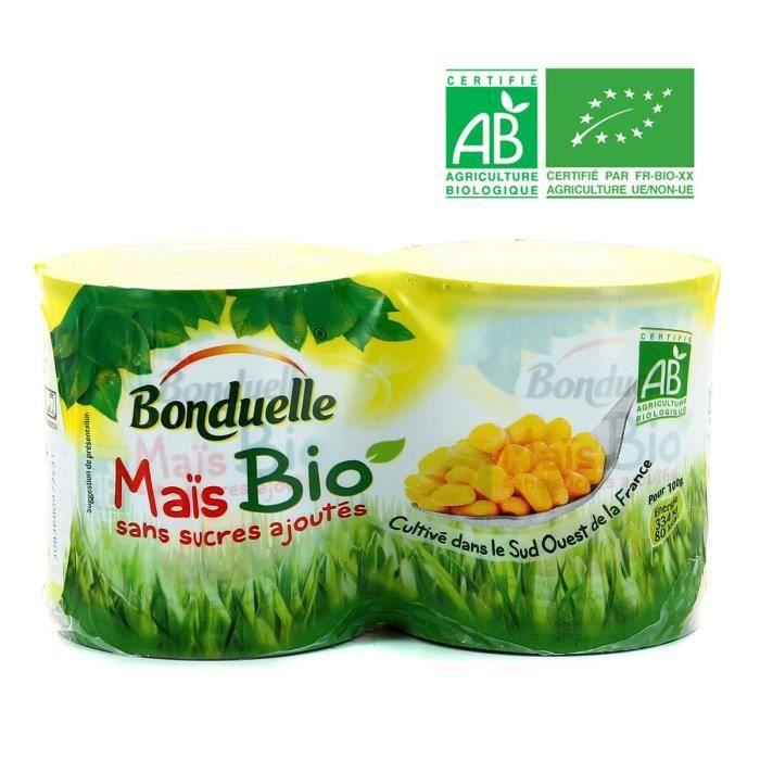 Maïs bio 300 GR Bonduelle