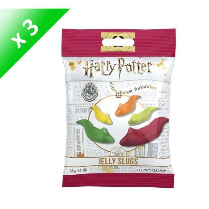 [LOT DE 3] Bonbons Jelly Belly Harry potter Limaces 56g