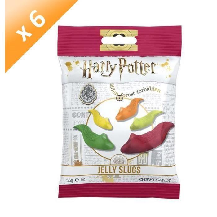 [LOT DE 6] Bonbons Jelly Belly Harry potter Limaces - 56 g