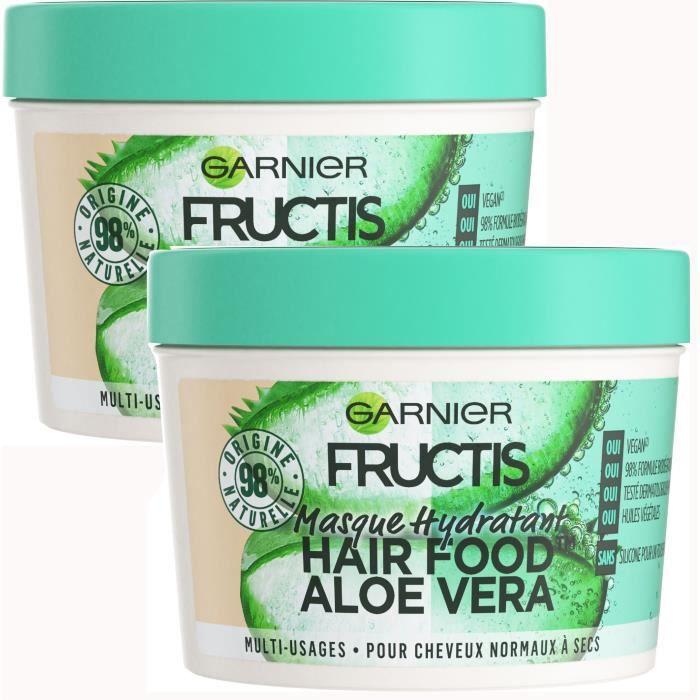 [LOT DE 2] Garnier Fructis HairFood Aloe Masque Multi-Usages Aloe