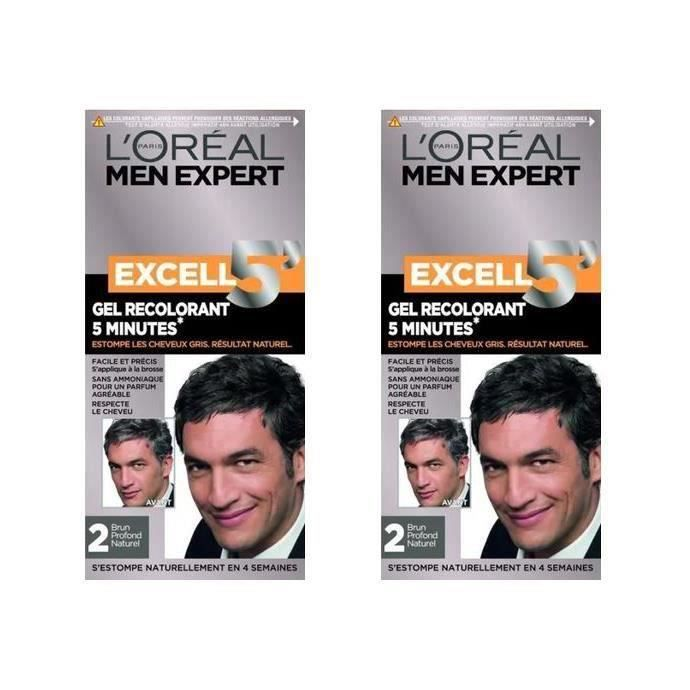 EXCEL Color homme 5 nat 2 (Lot de 2)