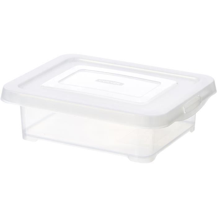 CURVER - Handy Box 1,2L avec couvercle