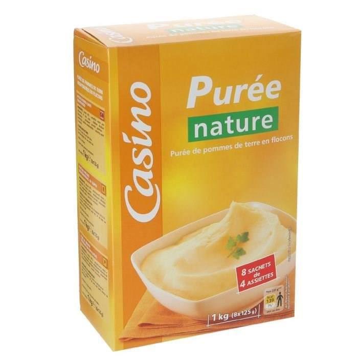CASINO Purée Nature 1kg