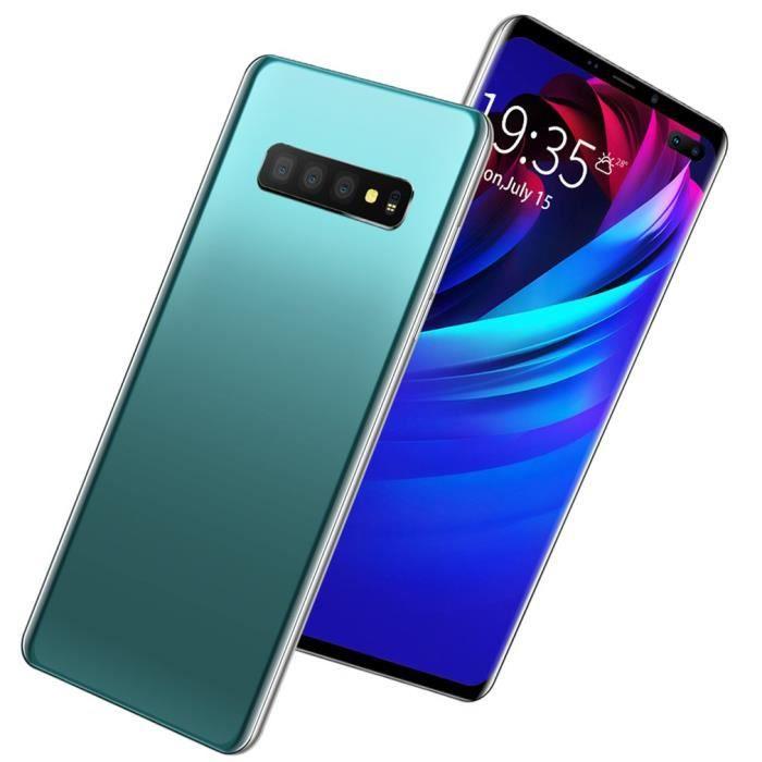 s10 6.1 -android 9.1 smartphone octa core 6gb + 128gb visage empreintes digitales double déverrouiller grand écran 4800mah