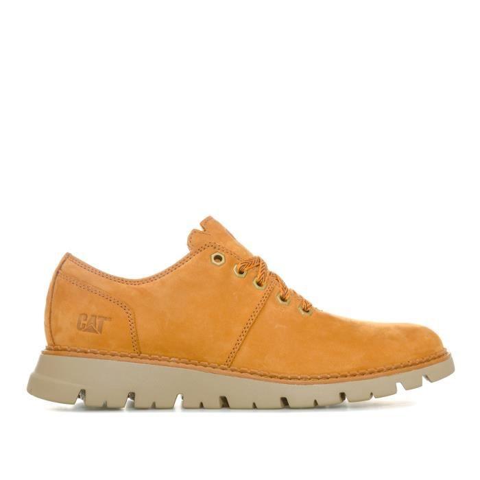 Caterpillar Chaussures de ville Drake Marron Homme