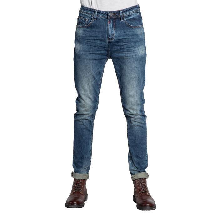 DEELUXE Jeans tapered WARREN Medium Blue