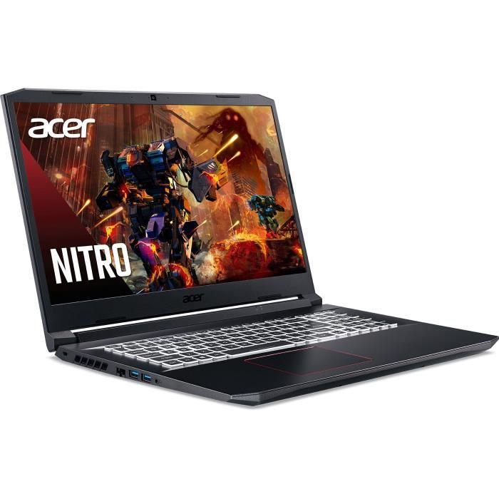Acer Nitro 5 AN517-52-505S - Core i5 I5-10300H 2.5 GHz 16 Go RAM 512 Go SSD Noir