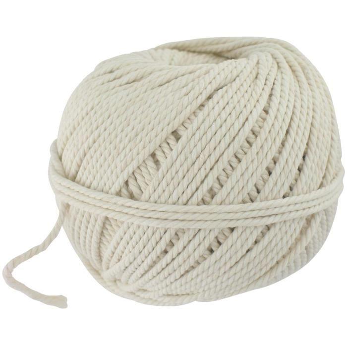 Rouleau de fil coton câble Outibat - Long. 34 m