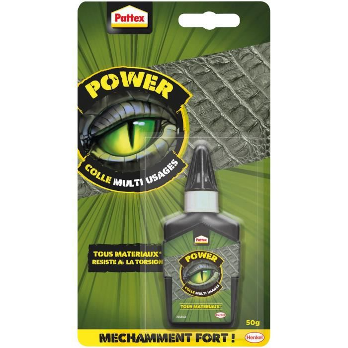 PATTEX Colle multi usages Power - 50 g