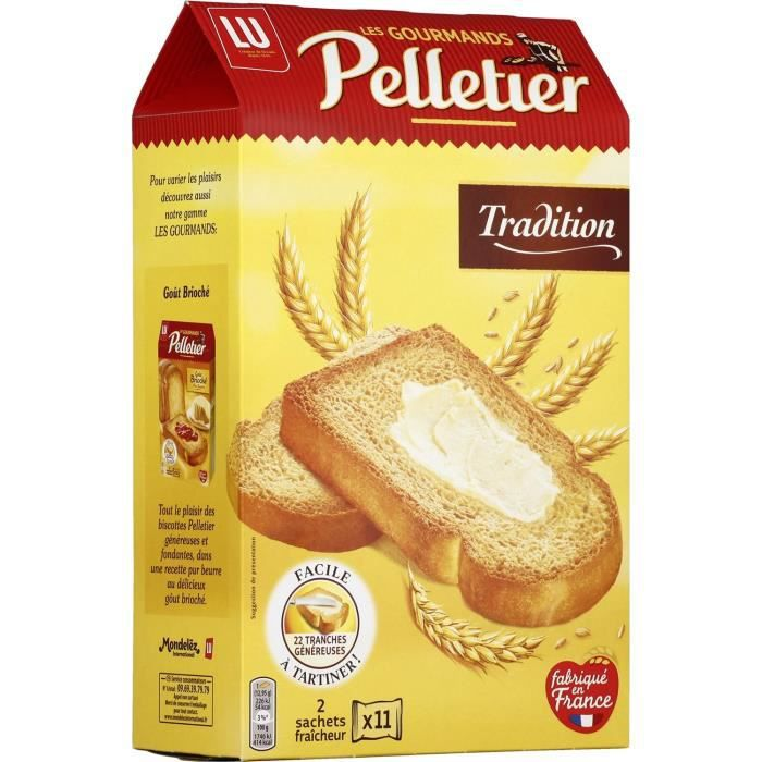 Pain grillé tradition 285g Pelletier